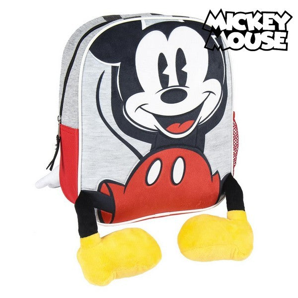 3D Child bag Mickey Mouse Grey Red