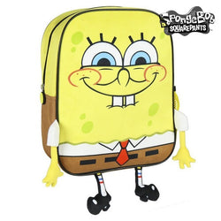 3D Child bag Spongebob Yellow Brown