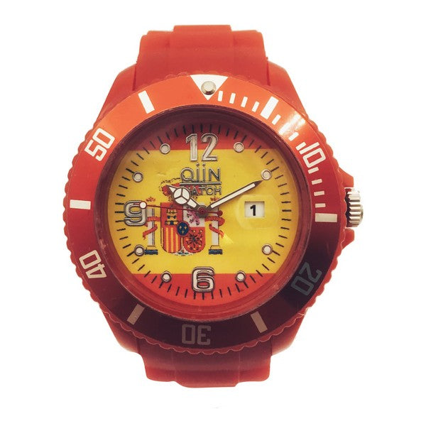 Unisex Watch Qiin 0311SPSS (39 mm)