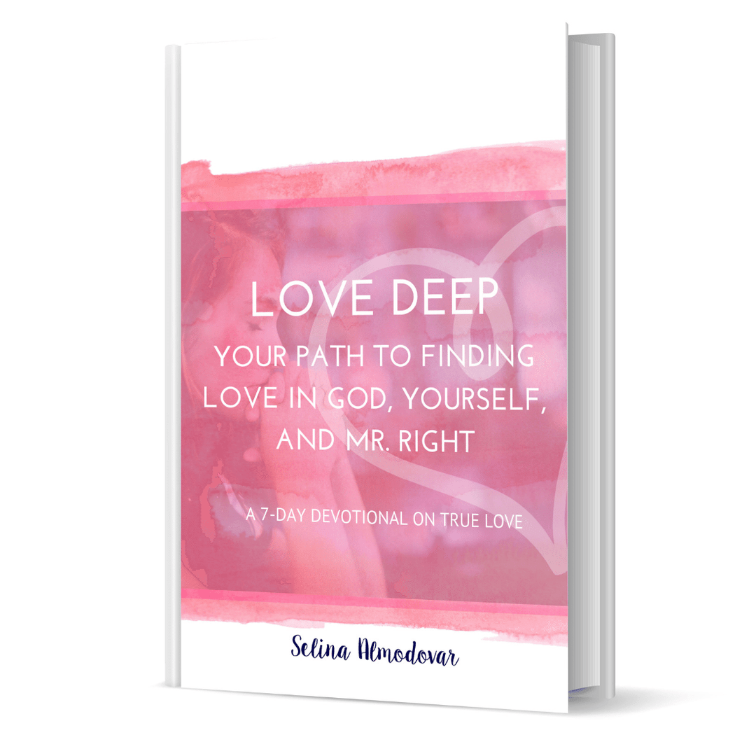 Love Deep: 7-Day Devotional For Singles- Autographed Paperback Edition