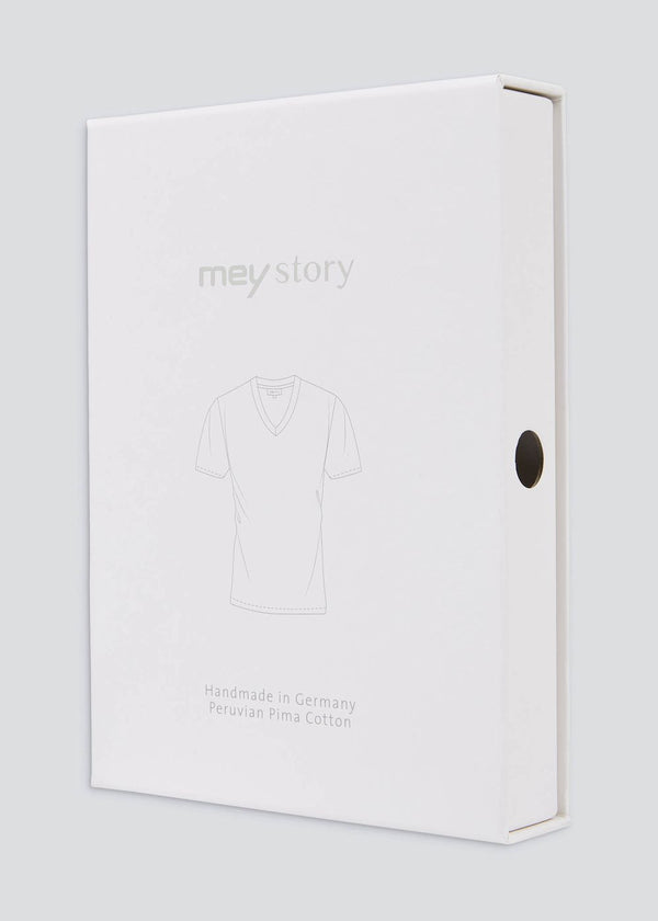 Mey Story T-shirt V-neck navy