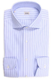 Oxford Striped Shirt - Blue & Blue