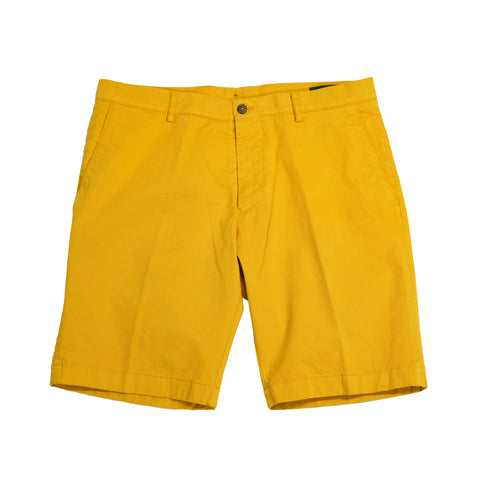 Berwich Bermuna Shorts - Lingotto / Yellow