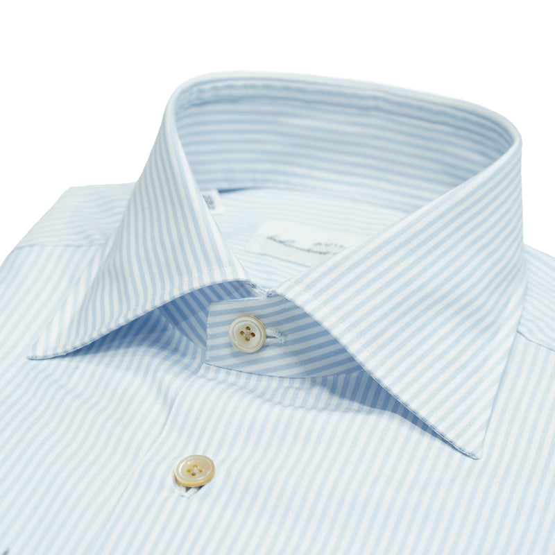 Avino dress shirt striped  / Light Blue