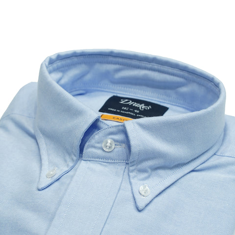 Drake´s Oxford button-down Shirt / Light Blue