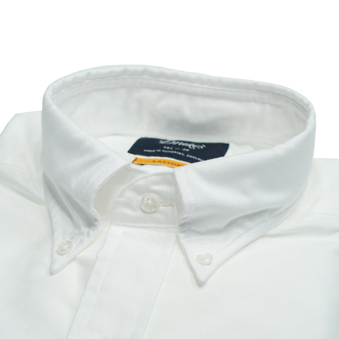Drake´s Oxford button-down Shirt / White