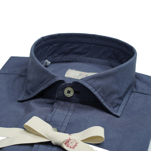 Grigio Garment dyed Shirt / Blue