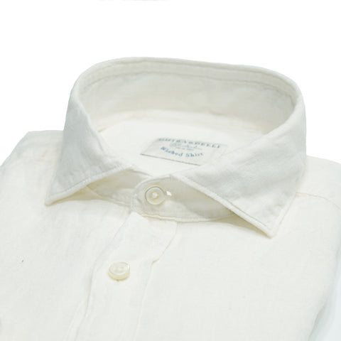 Ghirardelli Linen Shirt / Off White