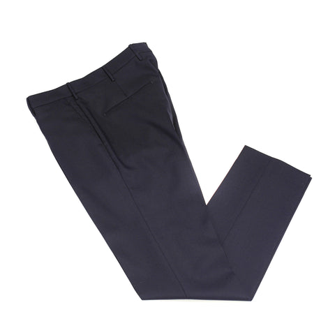Berwich Patrizio wool trousers - Navy