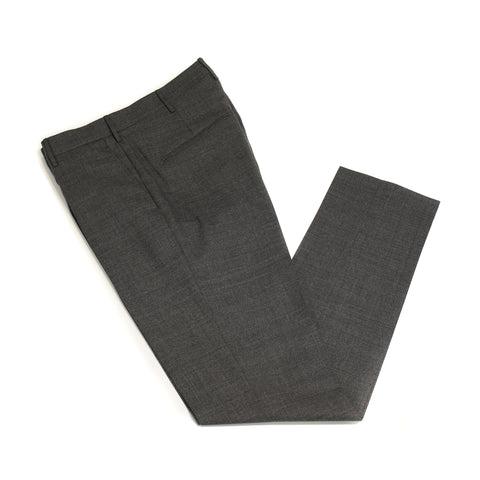 Berwich Patrizio wool trousers - Smoke gray