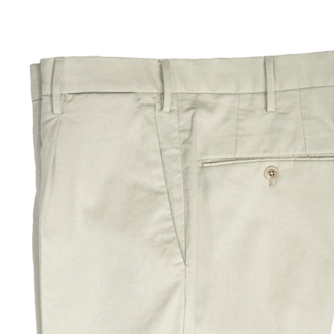 INCOTEX Ice Cotton trousers / Off White