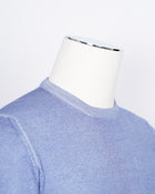 Gran Sasso Vintage Merino Crew Neck Knitwear / Light Blue