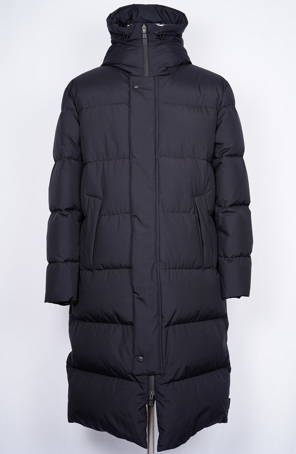 Herno Laminar Long Down Coat / Black