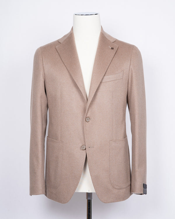 TAGLIATORE Jacket 100% Camel / Light Beige