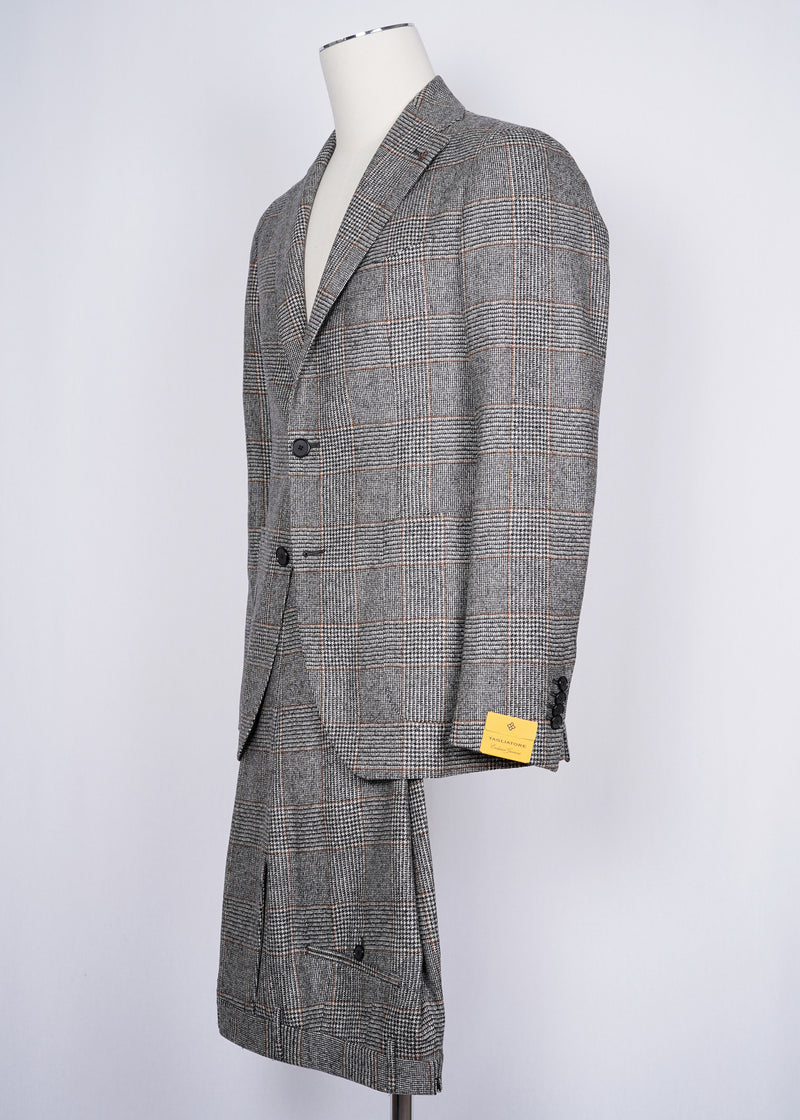 TAGLIATORE Exclusive Flannel Suit / Grey