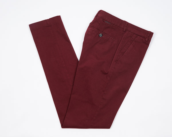 Berwich Morello Garment Dyed Chinos- Gelso
