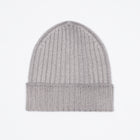Gran Sasso Vintage Merino Beanie - Light Grey