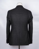 TAGLIATORE Checkered Jacket / Black & Gray