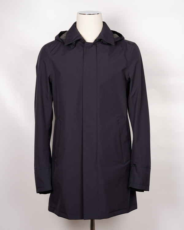 Herno Laminar Car Coat / Dark Blue