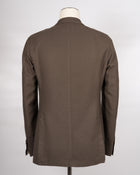 L.B.M. 1911 Cotton Lyocell Jersey Jacket / Khaki Green