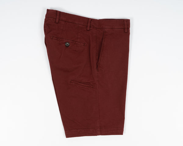 Berwich Bermuda Cotton Shorts - Gelso