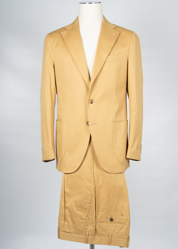 Gaiola Napoli Cotton Suit / Yellow
