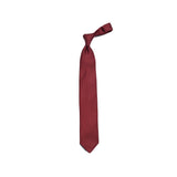 E. Marinella Burgundy Dotted Printed Silk tie