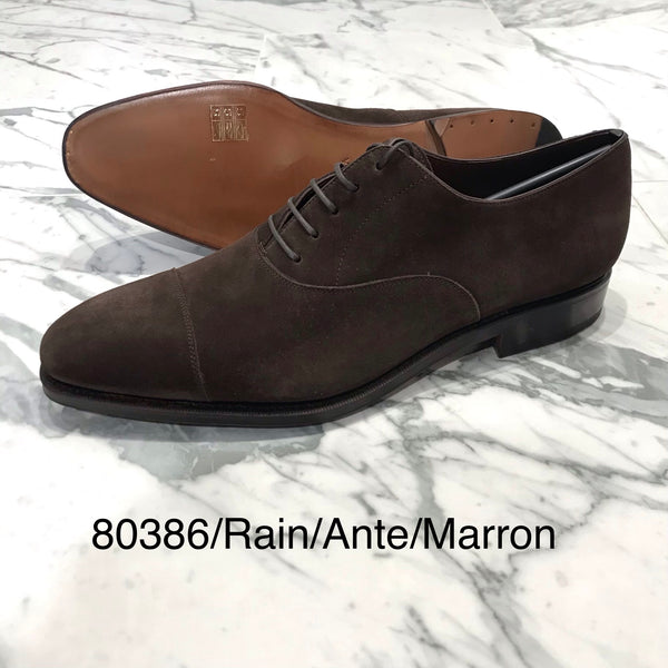 CARMINA / 80386 / RAIN / ANTE / MARRON / CAPTOE OXFORDS