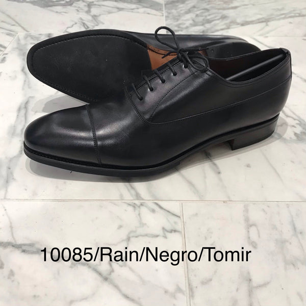 CARMINA / 10085 / RAIN / BLACK / CAPTOE OXFORDS