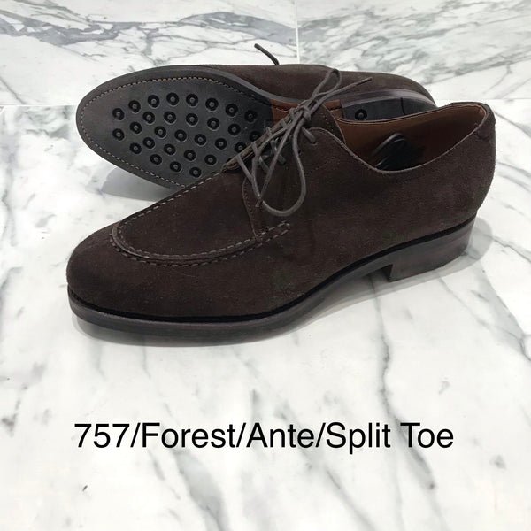 CARMINA / 757 / FOREST / ANTE MARRON / DERBY NORWEGIAN SPLIT TOE
