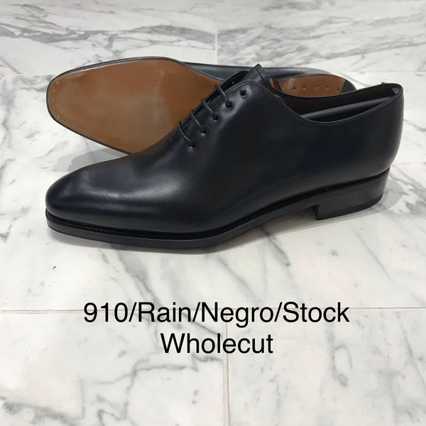 CARMINA / 910 / RAIN / NEGRO / WHOLECUT OXFORDS