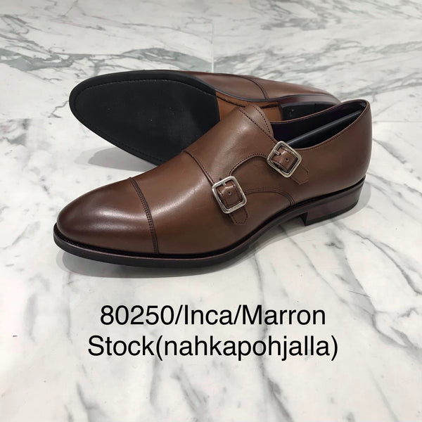 CARMINA / 80250 / INCA / MARRON / DOUPLE MONK