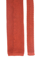 Knit Tie - Orange