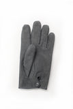 Amanda Christensen Grey Suede Gloves Front