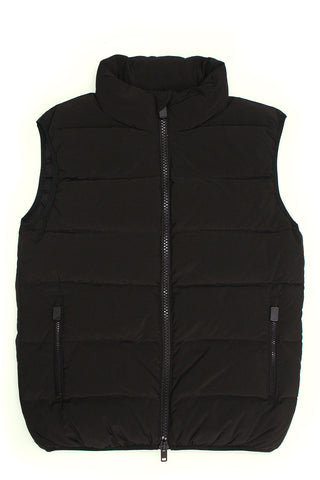 Down Vest - Brown