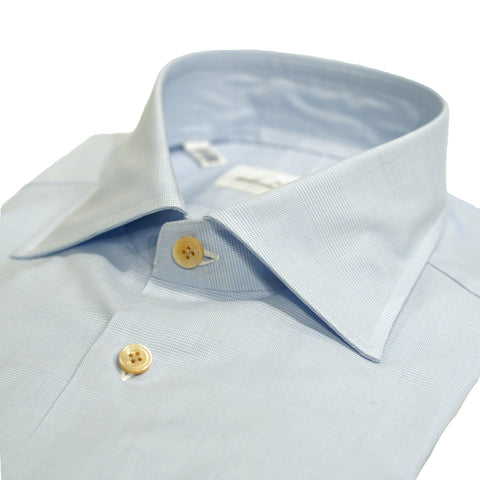 Avino Glen Check dress shirt / Light Blue