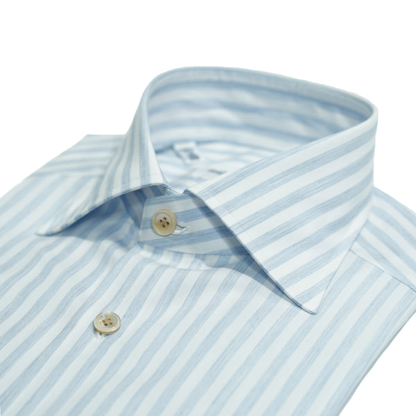 Avino Candy Stripe dress shirt / Light Blue