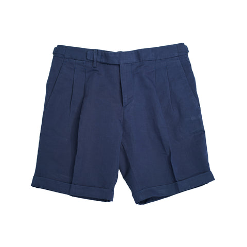 Briglia 1949 Pleated Bermudas / Blue