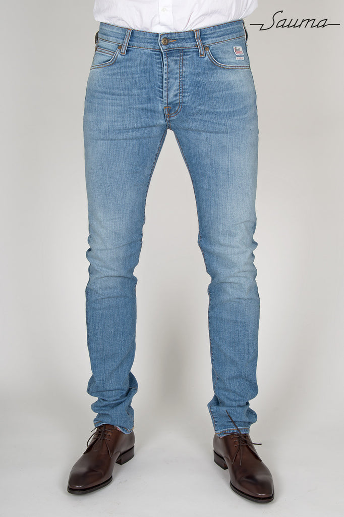 Stretch Jeans - Light Blue Wash