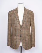 Gaiola Napoli Tweed Jacket / Beige Houndstooth