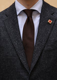 Lardini Dyed Checkered Jacket Detail