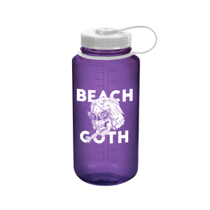 Beach Goth Nalgene Water Bottle - Purple