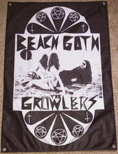 Load image into Gallery viewer, Classic Beach Goth Wall Flag