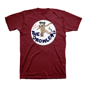 Rat Face Maroon T-Shirt