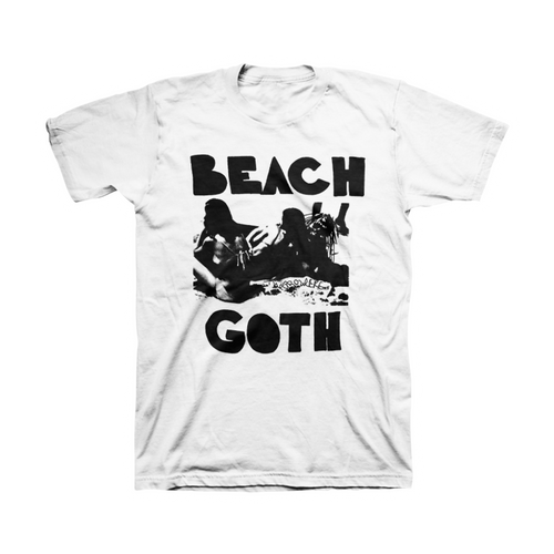 Classic Beach Goth T-Shirt - The Growlers - 1