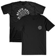 Load image into Gallery viewer, Beach Goth Records Spiral Pocket T-Shirt