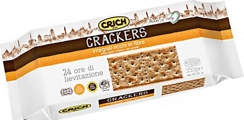 CRICH  Crackers Integrali - 250 Gr