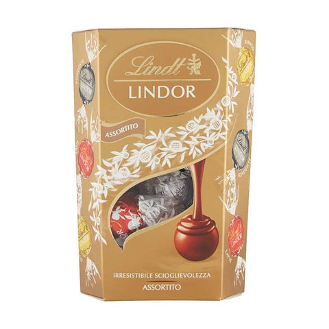 CORNET LINDT  Assortito - 200 Gr