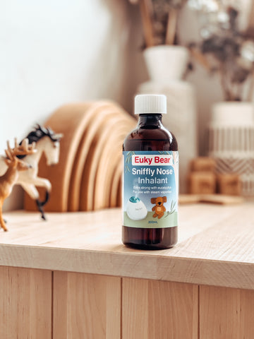 Euky Bear Sniffly Nose Inhalant for use in a vaporiser