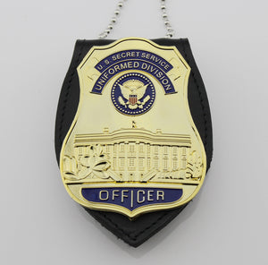 USSS Officer U.S. Secret Service The White House Defense Badge Replica Movie Props